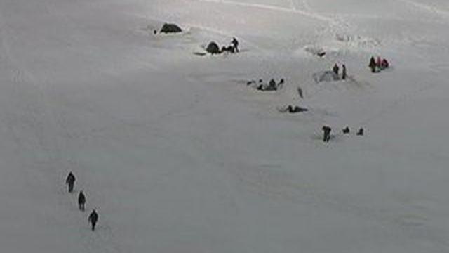 Canicule : au Mont-Blanc, l'impact est lourd