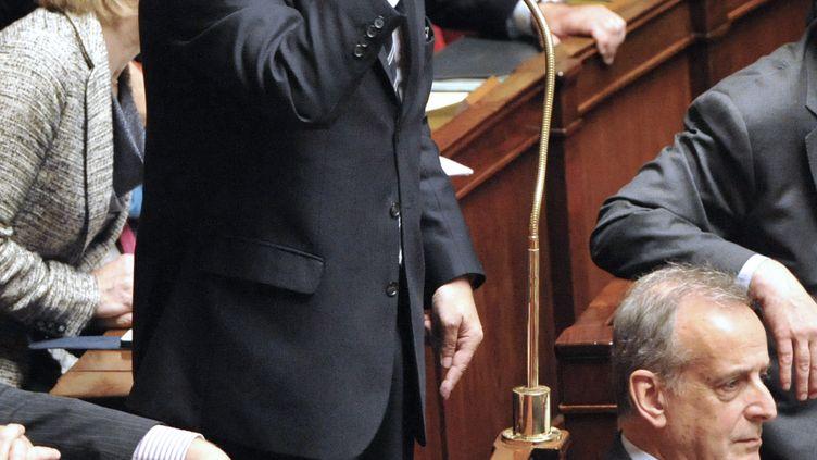 Le président du groupe UMP à l'Assemblée, Christian Jacob, le 13 novembre 2012. (MEHDI FEDOUACH / AFP)