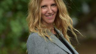 Sandrine Kiberlain à Angoulême le 29 août 2020 (FRANCK CASTEL / MAXPPP)