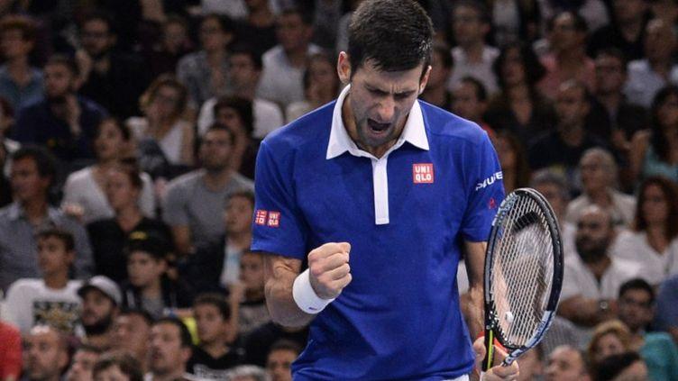La rage de vaincre de Novak Djokovic (MIGUEL MEDINA / AFP)