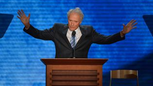 Clint Eastwood en 2012. (STAN HONDA / AFP)