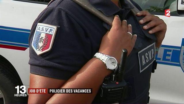 Landes : de jeunes policiers en surveillance pendant les vacances