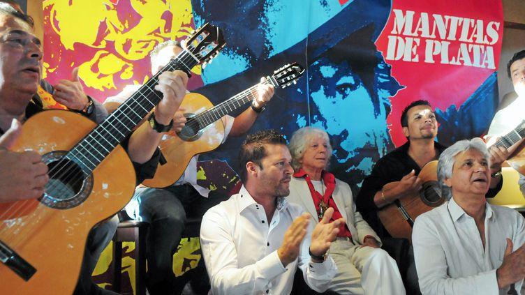 ici, les gitans fêtent le 90e anniversaire de Manitas de Plata  (MaxPPP/Midi Libre )