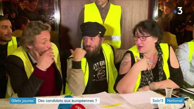 """Des """"gilets jaunes"""" et Francis Lalanne veulent participer aux élections européennes"""