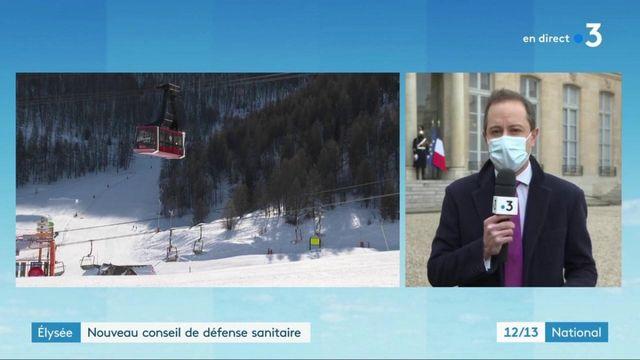 Conseil de défense sanitaire : les stations de ski ne devraient pas rouvrir pour les vacances