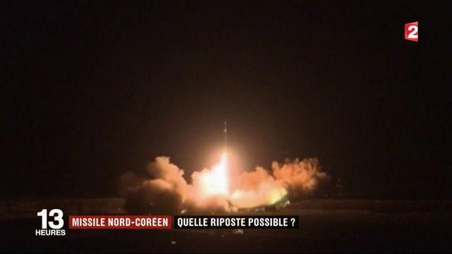 Missile nord-coréen : quelle riposte possible?