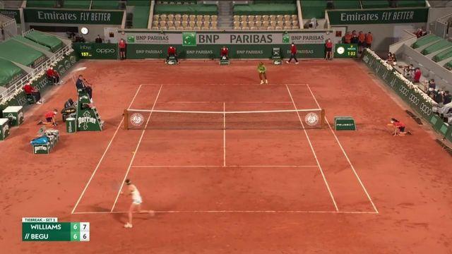 VIDÉO. Roland-Garros 2021 : revivez les moments forts de la victoire de Serena Williams au 1er tour