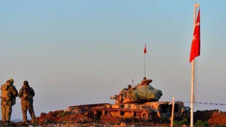 La Turquie a déplacé les reliques de Soüleyman qui prendront place dans un nouveau tombeau. (AFP)