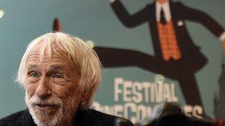 L'acteur français Pierre Richard, lors du festival CineComedies, le 27 septembre 2018 à Lille. (FRANCOIS LO PRESTI / AFP)