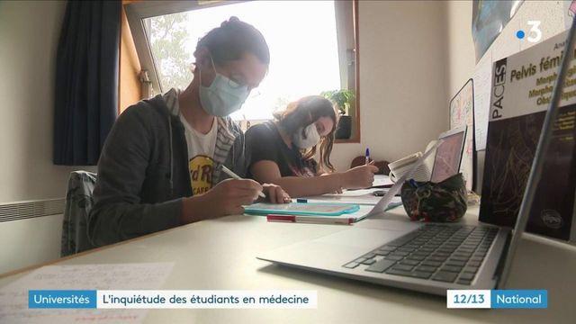 Université : le désarroi des étudiants en première année de médecine