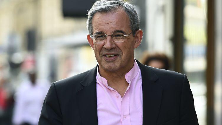 L'ancien député Les Républicains Thierry Mariani, le 11 juillet 2017 à Paris. (BERTRAND GUAY / AFP)