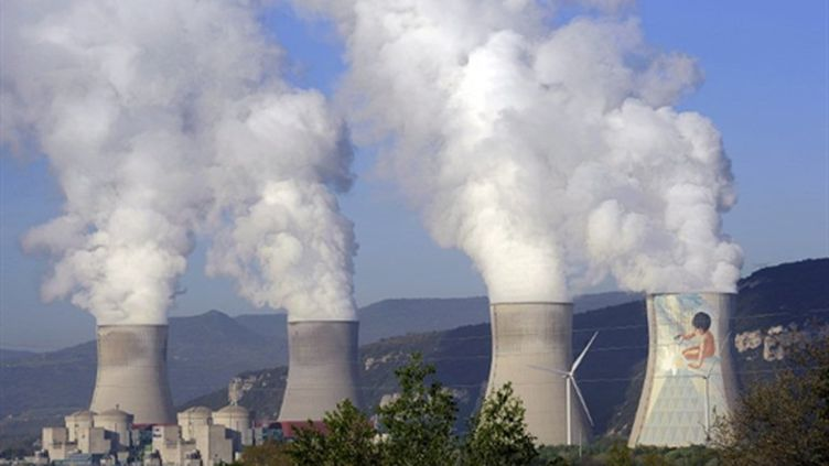 Usine nucléaire de Cruas Meysse (7 avril 2011) (AFP/PHILIPPE DESMAZES)