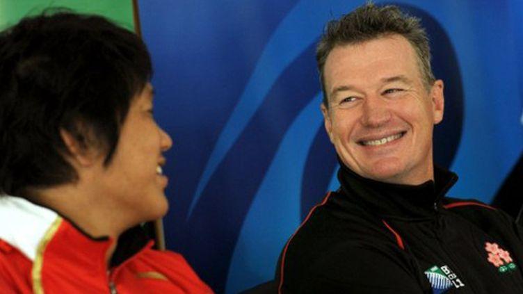 L'entraîneur du Japon, John Kirwan