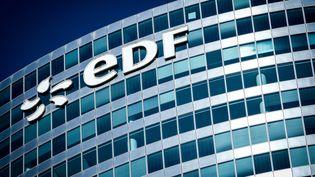 Le siège d'EDF à la Défense, le 1er juin 2019. (ELKO HIRSCH / HANS LUCAS / AFP)