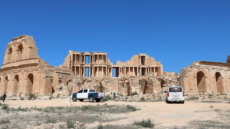 A Sabratha (ouest de La Libye), les ruines antiques sont les otages des milices. Photo prise le 7 octobre 2017. (REUTERS/Hani Amara)