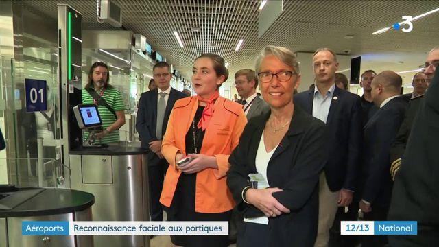 Aéroports : reconnaissance faciale aux portiques