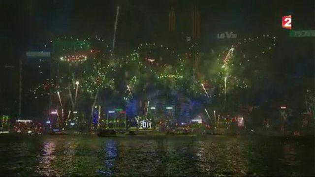 Nouvel An : certains pays sont déjà en 2017