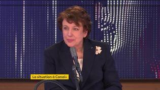 Roselyne Bachelot, ministre de la Culture, était l'invitée de franceinfo vendredi 8 janvier 2021. (FRANCEINFO / RADIO FRANCE)