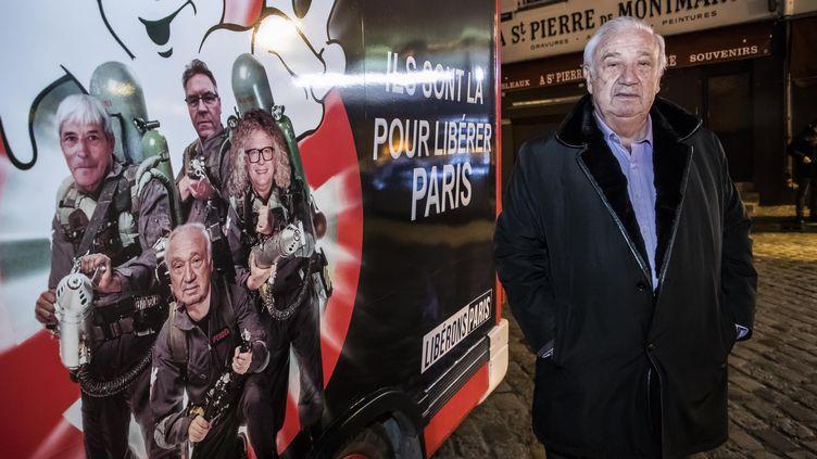 Marcel Campion, candidat à la mairie de Paris, en janvier 2020. (CHRISTOPHE PETIT TESSON / EPA / MAXPPP)
