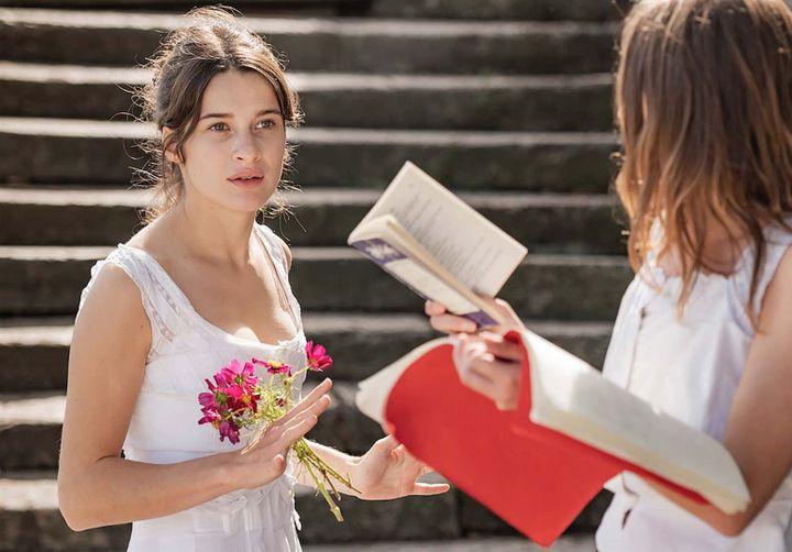 """Rebecca Marder est Irène dans """"Une jeune fille qui va bien"""" de Sandrine Kiberlain. (JEROME PREBOIS)"""