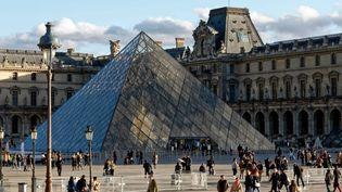 Le Louvre, la pyramide, l'entrée principale (15 novembre 2018)  (Daniel Fouray / PhotoPQR / Ouest-France / MaxPPP)