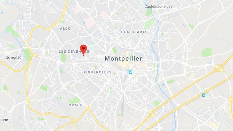 La cité Astruc à Montpellier. (GOOGLE MAPS / FRANCETV INFO)