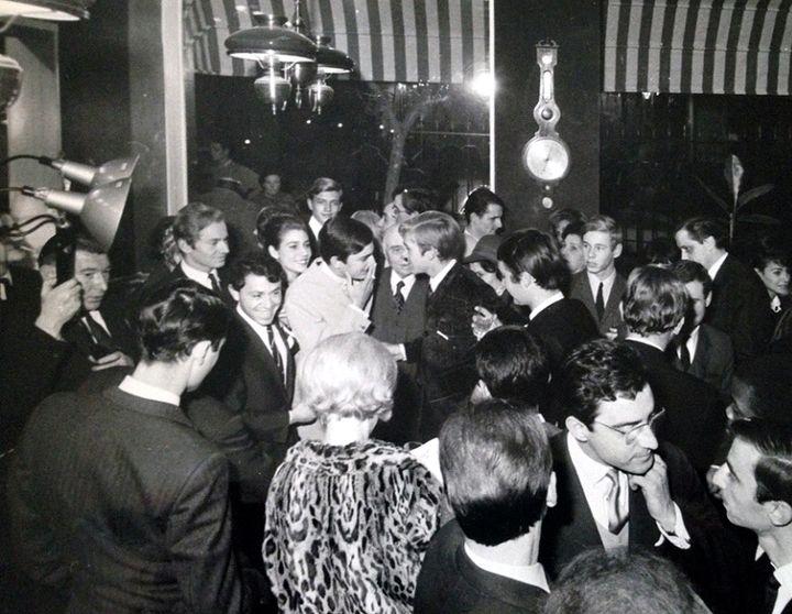 """Ouverture de la """"white house"""" Renoma le 23/10/1963 à Paris  (Archives Renoma)"""