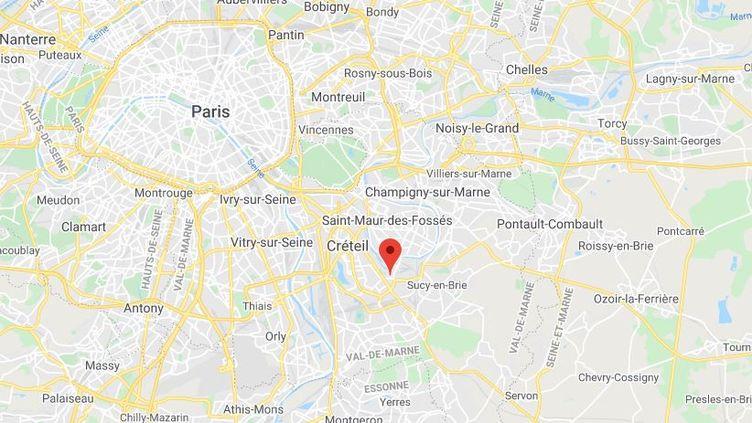 Bonneuil-sur-Marne dans le Val-de-Marne. (GOOGLE MAPS / FRANCETV INFO)