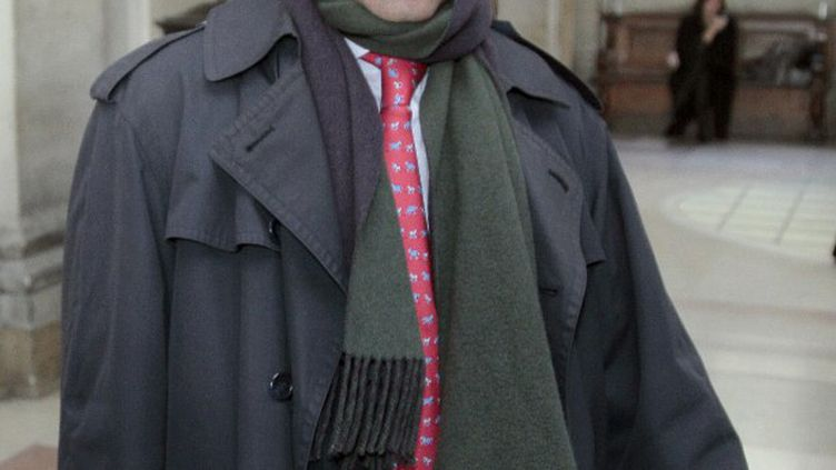 Eric Zemmour au tribunal correctionnel de Paris le 11 janvier 2011, où il comparaissait pour diffamation et discrimination raciale. (JACQUES DEMARTHON / AFP)