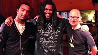 Ralph Lavital (guitare), Nicolas Pelage (chant) et Laurent Coq (piano)  (DR)
