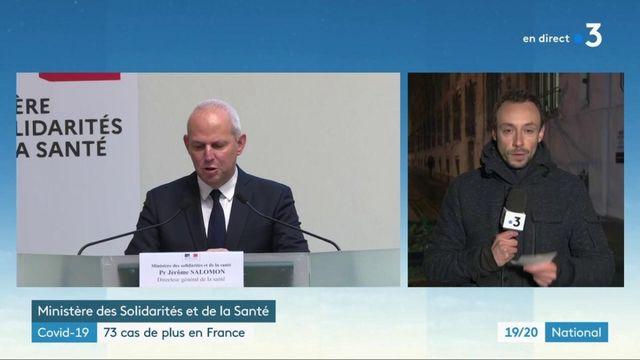 Covid-19 : 73 nouveaux cas en France le 4 mars