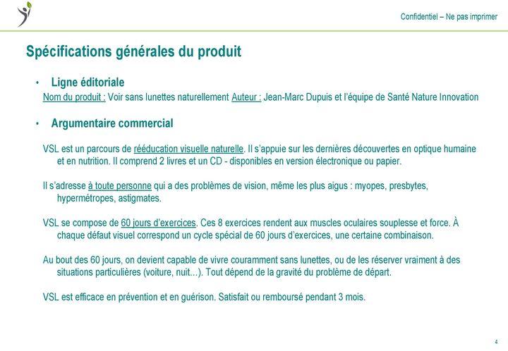 """Extrait du programme """"Voir sans lunettes naturellement"""". (CELLULE INVESTIGATION / RADIO FRANCE)"""