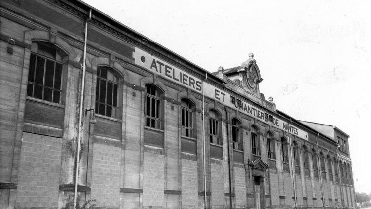 Les chantiers Dubigeon à Nantes. (MAXPPP)