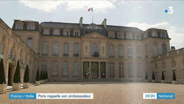 France-Italie : Paris rappelle son ambassadeur à Rome