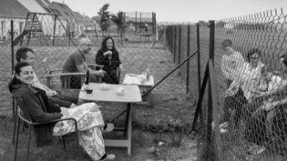 Photographie : visages de confinés dans l'Oise (France 3)
