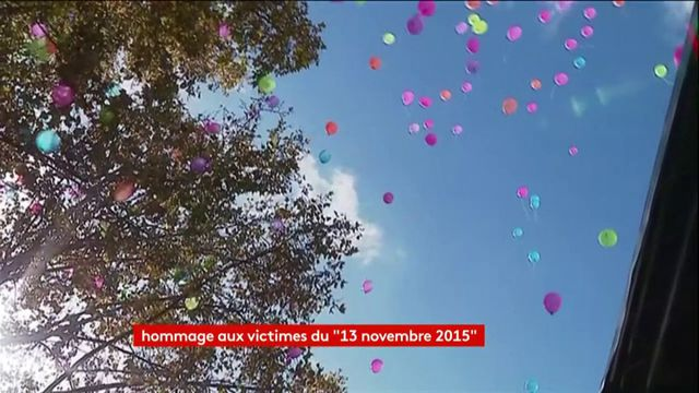 lâcher de ballons 13 novembre