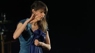 Camille a donné un aperçu de son nouvel album lors de son concert au Printemps de Bourges, en avril dernier. (FRÉDÉRIC DUGIT / MAXPPP)