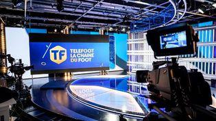 Les studios de la chaine de télévision, à Aubervilliers, le 18 aout 2020. (BERTRAND GUAY / AFP)