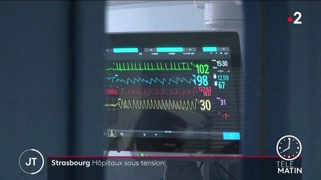 Covid-19 : à Strasbourg, un centre hospitalier sous tension