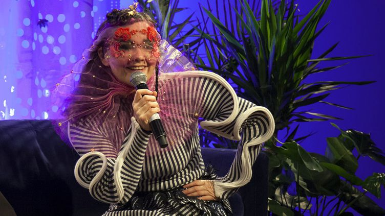 Björk à Montréal en octobre 2016  (Red Bull Content Pool / Sipa)