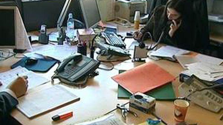 Une étudiante stagiaire (© France 3 Aquitaine)