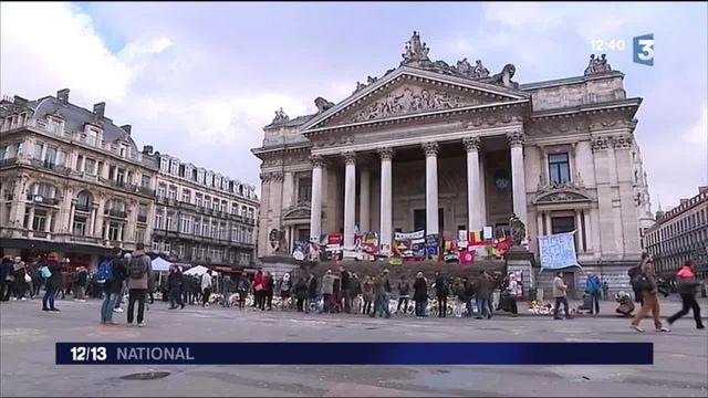 Attentats à Bruxelles : l'archivage des témoignages de solidarité commence