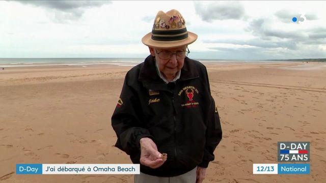 Débarquement : à 96 ans, ce vétéran américain s'est rendu en Normandie