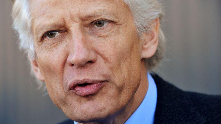 Dominique de Villepin, le 11 janvier 2012. (PIERRE ANDRIEU / AFP)