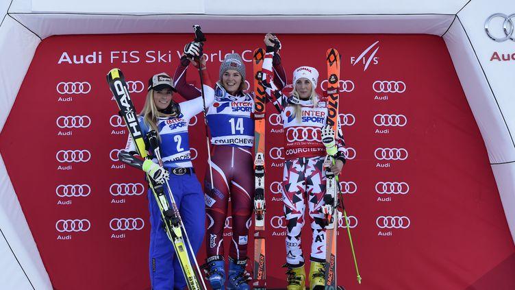 Slalom Géant Courchevel décembre 2015 (PHILIPPE DESMAZES / AFP)