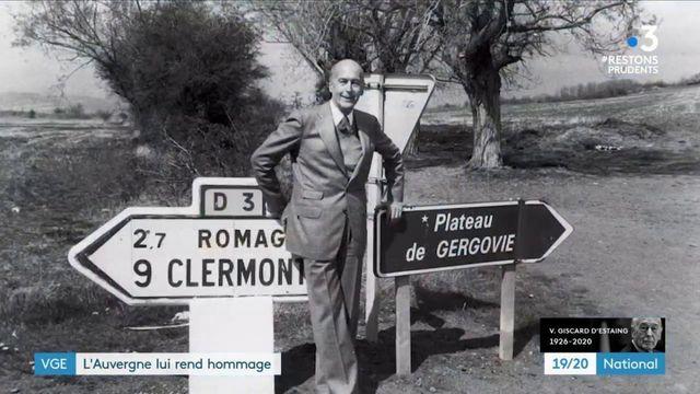 Mort de Valéry Giscard d'Estaing : une relation particulière avec l'Auvergne