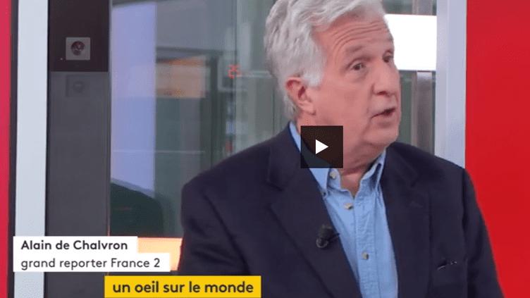 Alain de Chalvron (FRANCEINFO)