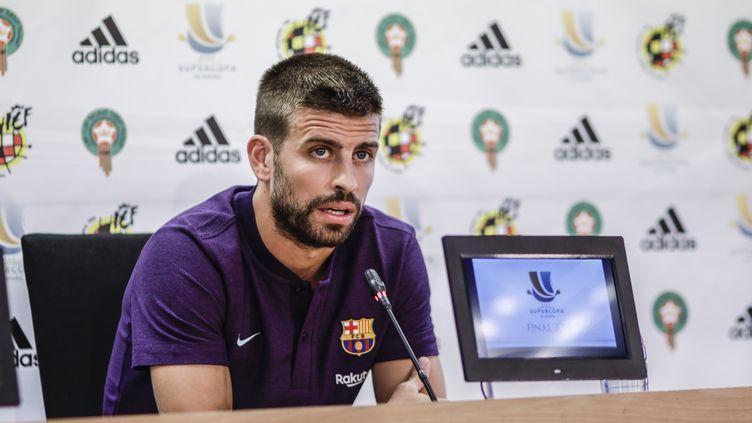 L'Espagnol Gerard Pique a annoncé sa retraite internationale. (XAVIER BONILLA / NURPHOTO)