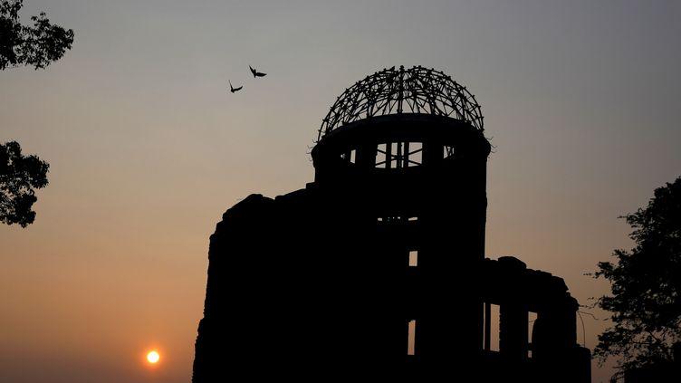 """Le musée de la paix ou """"dôme de la Bombe atomique"""" à Hiroshima (Japon), le 4 août 2015. (  REUTERS)"""