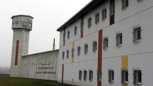 Le centre pénitentiaire d'Alençon-Condé-sur-Sarthe, en janvier 2014. (PHOTOPQR / OUEST-FRANCE / MAXPPP)